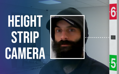 CAPTURE the faces of fleeing offenders with a Height Strip Camera!