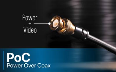 EX-SDI: Power Over Coax (PoC)